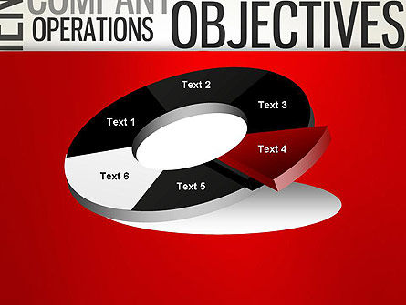Objectives and Targets Word Cloud PowerPoint Template Slide 19