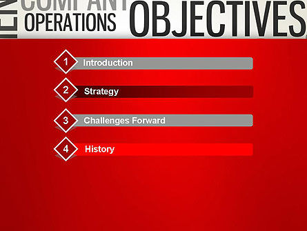 Objectives and Targets Word Cloud PowerPoint Template Slide 3