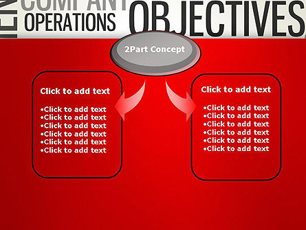 Objectives and Targets Word Cloud PowerPoint Template Slide 4