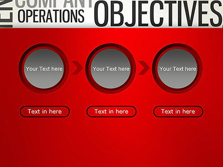 Objectives and Targets Word Cloud PowerPoint Template Slide 5