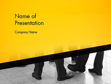 Business Concepts: Strategic Outsourcing PowerPoint Template #12794