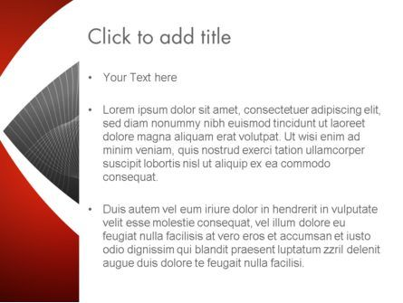 Abstract Layers PowerPoint Template, Slide 3, 12795, Abstract/Textures — PoweredTemplate.com