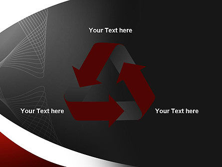 Abstract Layers PowerPoint Template Slide 10
