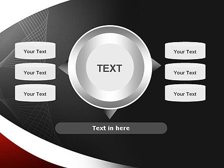 Abstract Layers PowerPoint Template Slide 12