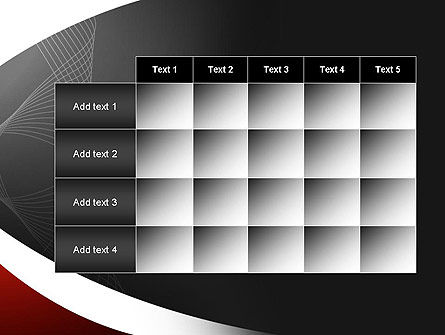 Abstract Layers PowerPoint Template Slide 15