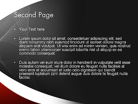 Abstract Layers PowerPoint Template Slide 2