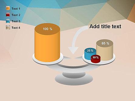 Triangle Pattern PowerPoint Template Slide 10