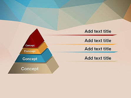 Triangle Pattern PowerPoint Template Slide 12