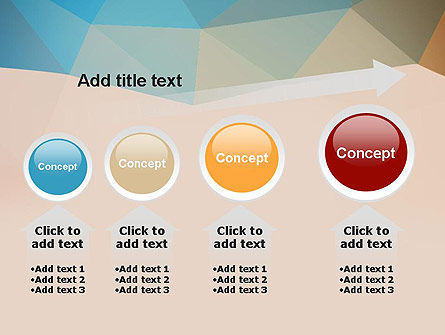 Triangle Pattern PowerPoint Template Slide 13