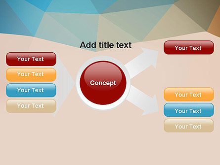 Triangle Pattern PowerPoint Template Slide 14