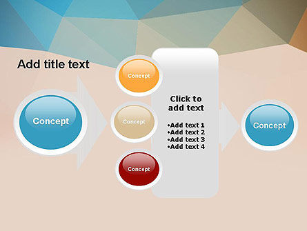 Triangle Pattern PowerPoint Template Slide 17