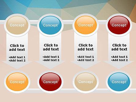 Triangle Pattern PowerPoint Template Slide 18
