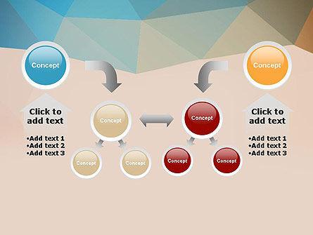 Triangle Pattern PowerPoint Template Slide 19
