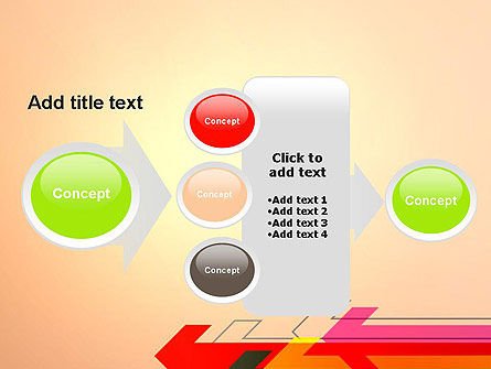 Arrows Pointing Towards Each Other PowerPoint Template Slide 17