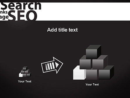 SEO Word Cloud PowerPoint Template Slide 13