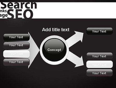 SEO Word Cloud PowerPoint Template Slide 15