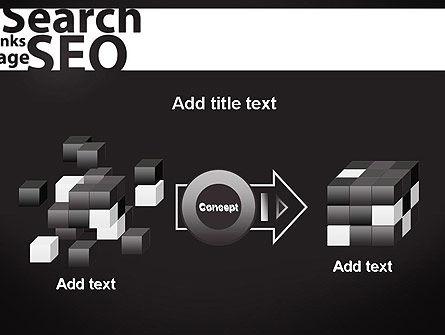 SEO Word Cloud PowerPoint Template Slide 17
