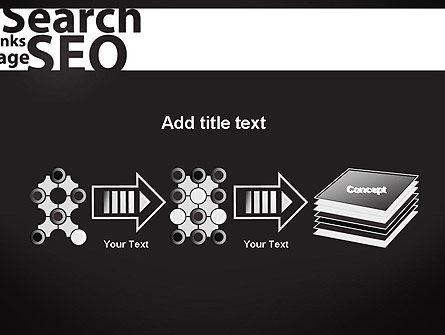 SEO Word Cloud PowerPoint Template Slide 9