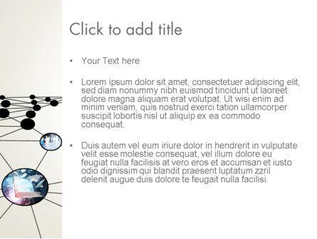 Network Nodes PowerPoint Template, Slide 3, 12803, Business — PoweredTemplate.com