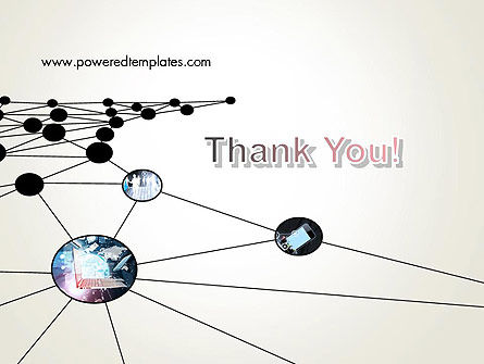 Network Nodes PowerPoint Template Slide 20