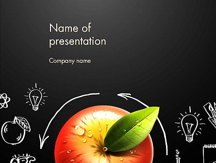 Idea Generation Process PowerPoint Template, 12805, Education & Training — PoweredTemplate.com