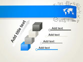 World Map and Charts PowerPoint Template#14