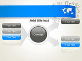 World Map and Charts PowerPoint Template#15