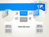World Map and Charts PowerPoint Template#16