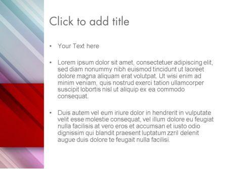 Abstract Minimalistic Digital Art Gradient PowerPoint Template, Slide 3, 12807, Abstract/Textures — PoweredTemplate.com
