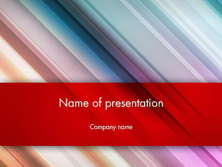 Abstract Minimalistic Digital Art Gradient PowerPoint Template