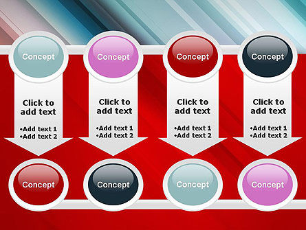 Abstract Minimalistic Digital Art Gradient PowerPoint Template Slide 18