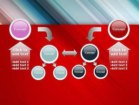 Abstract Minimalistic Digital Art Gradient PowerPoint Template Slide 19