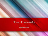 Abstract/Textures: Abstract Minimalistic Digital Art Gradient PowerPoint Template #12807