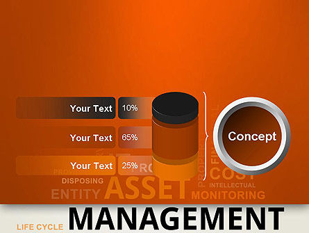 Asset Management Word Cloud PowerPoint Template Slide 11
