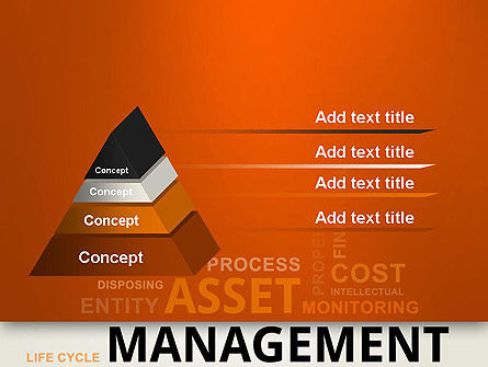 Asset Management Word Cloud PowerPoint Template Slide 12