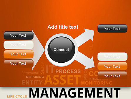 Asset Management Word Cloud PowerPoint Template Slide 14