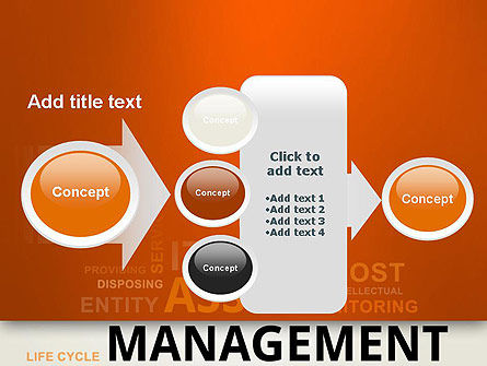 Asset Management Word Cloud PowerPoint Template Slide 17
