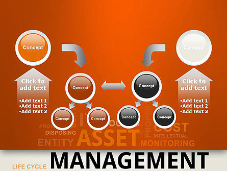 Asset Management Word Cloud PowerPoint Template Slide 19