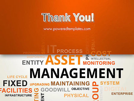 Asset Management Word Cloud PowerPoint Template Slide 20