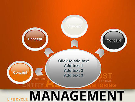 Asset Management Word Cloud PowerPoint Template Slide 7