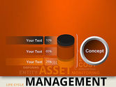 Asset Management Word Cloud PowerPoint Template#11
