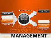 Asset Management Word Cloud PowerPoint Template#14