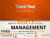 Asset Management Word Cloud PowerPoint Template#20