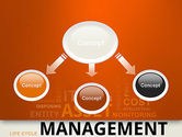 Asset Management Word Cloud PowerPoint Template#4