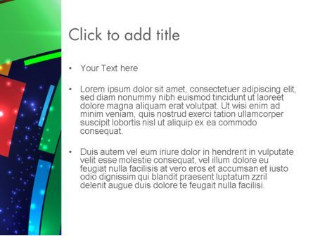 Dynamic Background PowerPoint Template, Slide 3, 12812, Abstract/Textures — PoweredTemplate.com