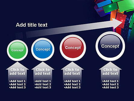Dynamic Background PowerPoint Template Slide 13