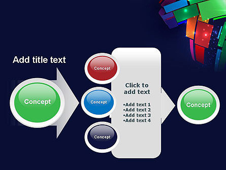 Dynamic Background PowerPoint Template Slide 17