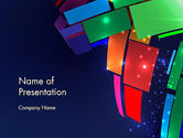 Abstract/Textures: Dynamic Background PowerPoint Template #12812