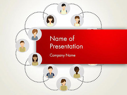 Networking Group PowerPoint Template