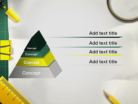 Stationery Supplies PowerPoint Template Slide 12